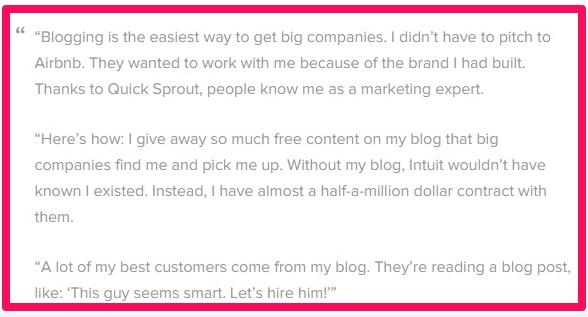 Blogging consultant